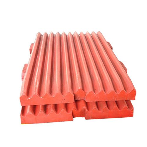 High Manganese Steel Jaw Plate For Metso