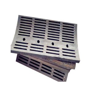 Hammer Crusher Grid Plate